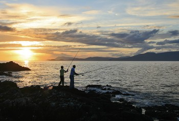 Shore Fishing on Clew Bay