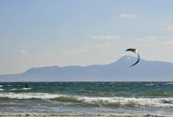Kite Surfing on Clew Bay