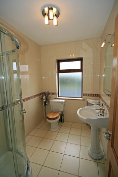 Bathroom for the standard double